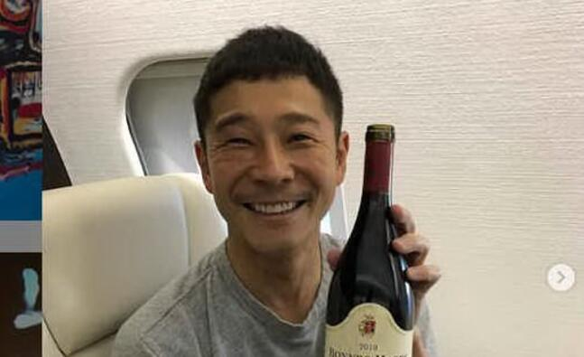 yusaku maezawa (foto instagram)