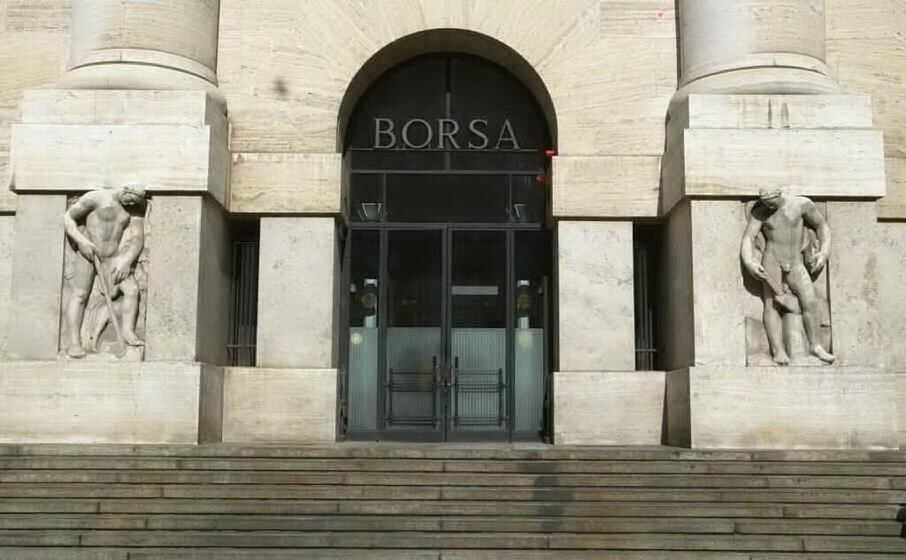 piazza affari (archivio l unione sarda)