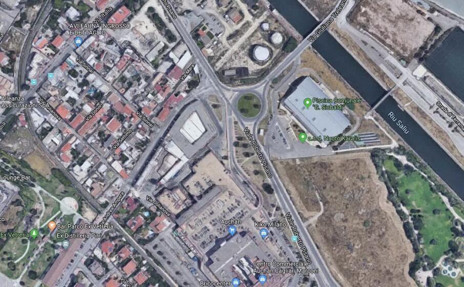 l area del centro commerciale marconi interessata dai lavori (foto google maps)