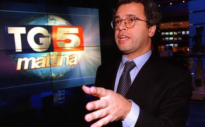 negli anni novanta al tg 5