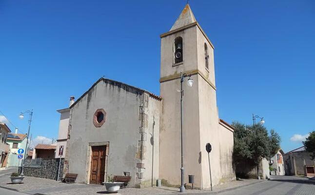 chiesa di san sebastiano a ollastra