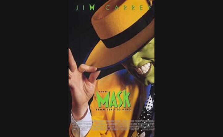 la locandina di uno dei suoi primi successi the mask