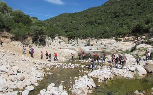 Littos, a Bitti, area montana del parco di Tepilora (foto Orunesu)