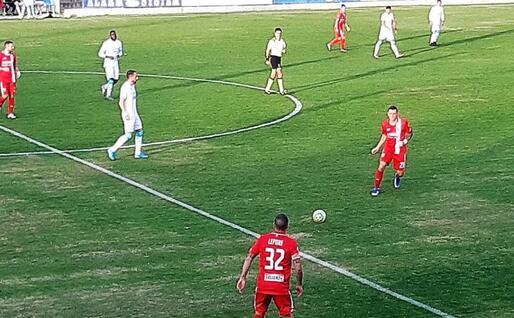 Una fase del match tra Olbia e Monza (L'Unione Sarda - foto Giagnoni)