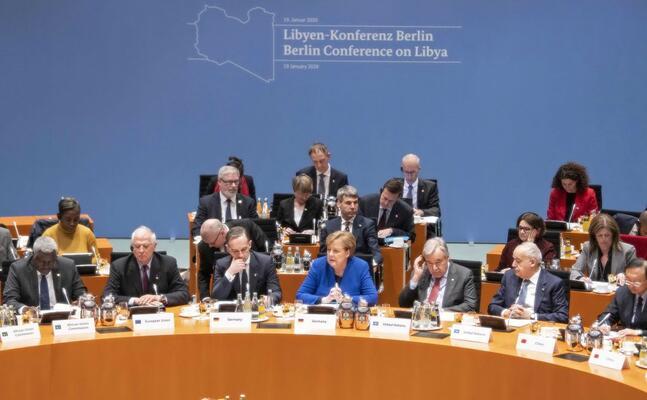 i leader alla conferenza di berlino (ansa)