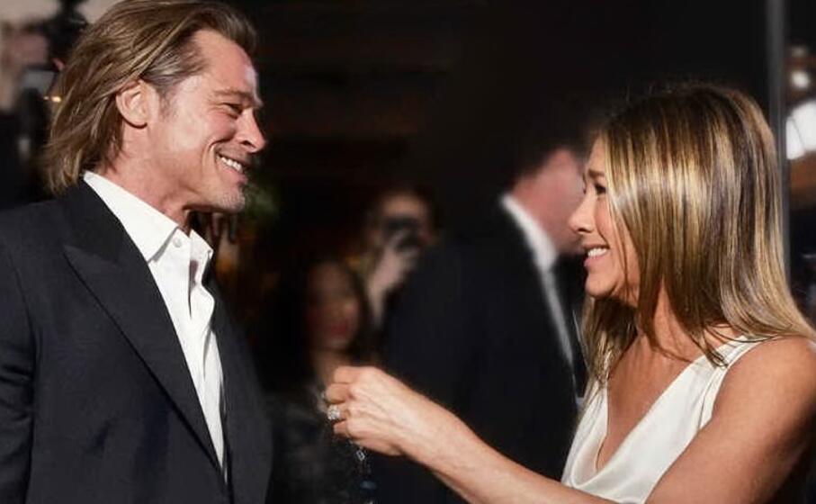 Brad Pitt e Jennifer Aniston, certi amori non finiscono