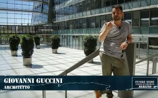 Giovanni Guccini (foto da frame video)