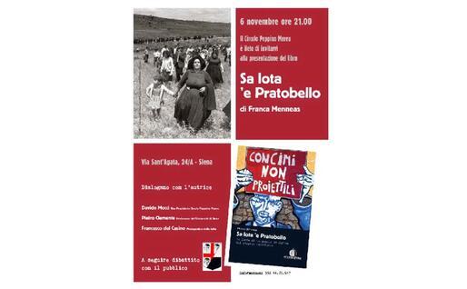 """La locandina dell'evento (foto circolo """"Peppino Mereu"""")"""
