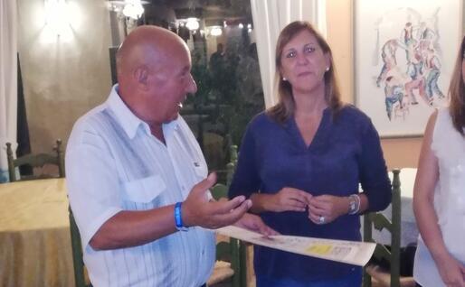 Salvatore Carta con Alessandra Zedda (foto circolo Sardegna)