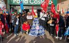 uno sciopero dei dipendenti sardi (archivio l unione sarda)