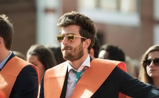La cerimonia di laurea del master (foto Gian Marco Nuvoli)
