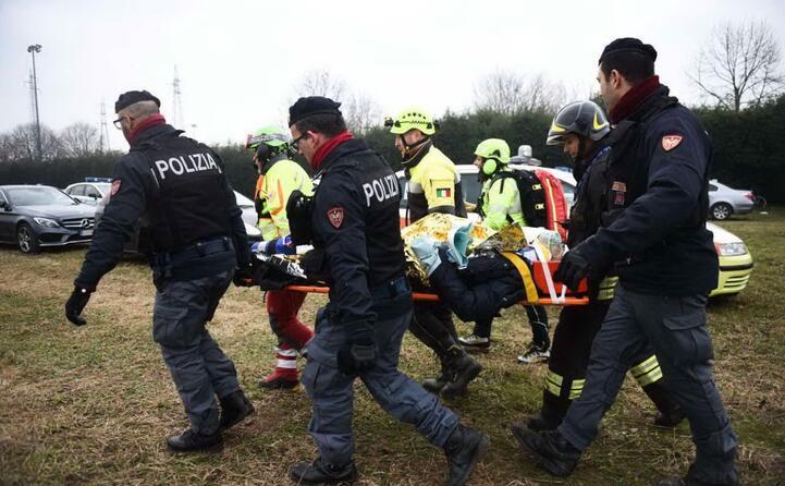 i soccorsi agli oltre 40 feriti