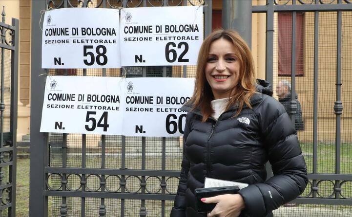 lucia borgonzoni centrodestra in emilia romagna (ansa benvenuti)