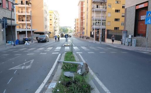 Il luogo dell'incidente (L'Unione Sarda - Almiento)