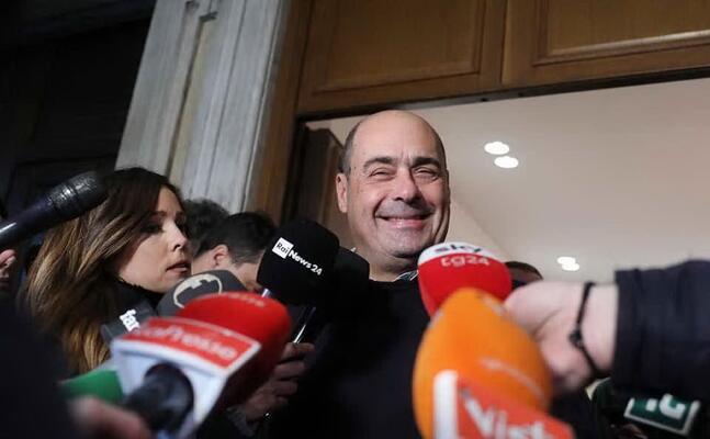 il segretario del pd nicola zingaretti (foto facebook pd)