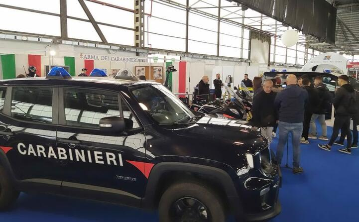 sardinian job day presenti anche le forze dell ordine