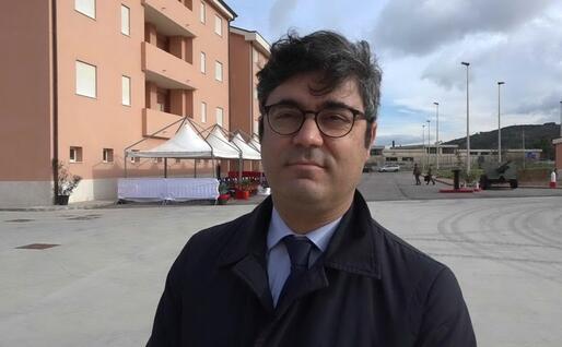 Andrea Soddu (Archivio L'Unione Sarda)