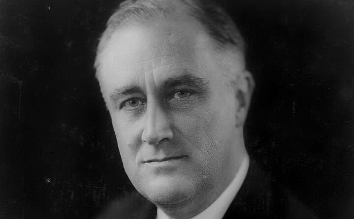 franklin delano roosvelt era il presidente degli stati uniti
