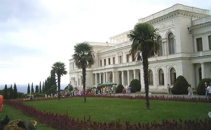 l incontro si tenne nel palazzo di livadija residenza estiva di nicola ii l ultimo zar di russia