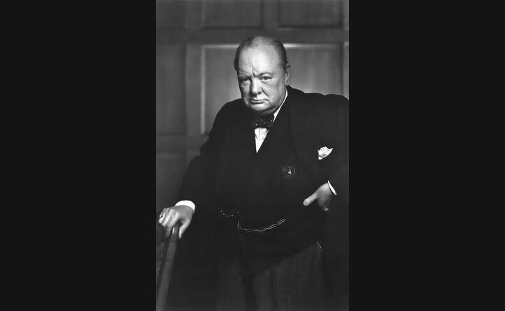 winston churchill era il primo ministro britannico