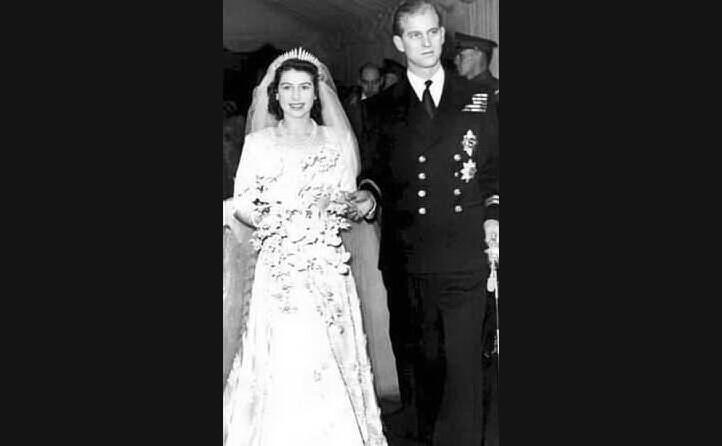le nozze con filippo di edimburgo