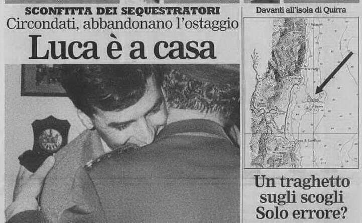 accaddeoggi 8 febbraio 1989 sull unione sarda la liberazione di luca di liberto
