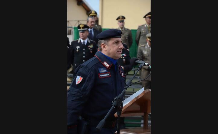 il tenente colonnello guido caponetto