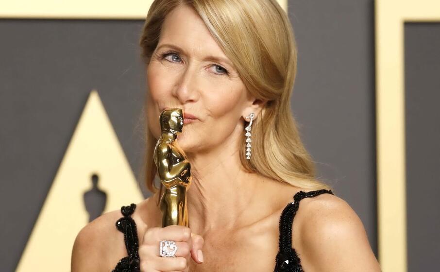laura dern migliore attrice non protagonista per storia di un matrimonio (epa swanson)