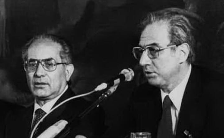 emilio colombo agli esteri e francesco cossiga presidente del consiglio nel 1980