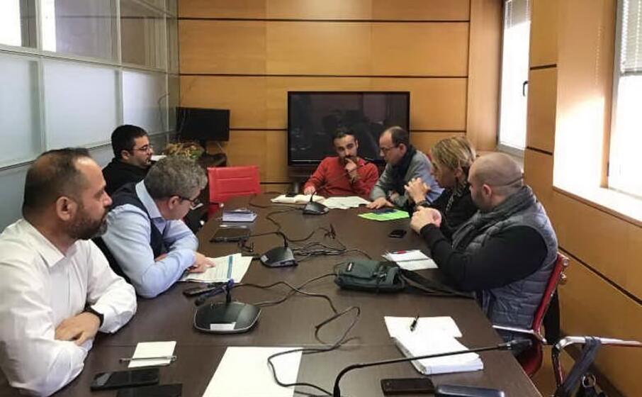 la commissione (foto m pala)