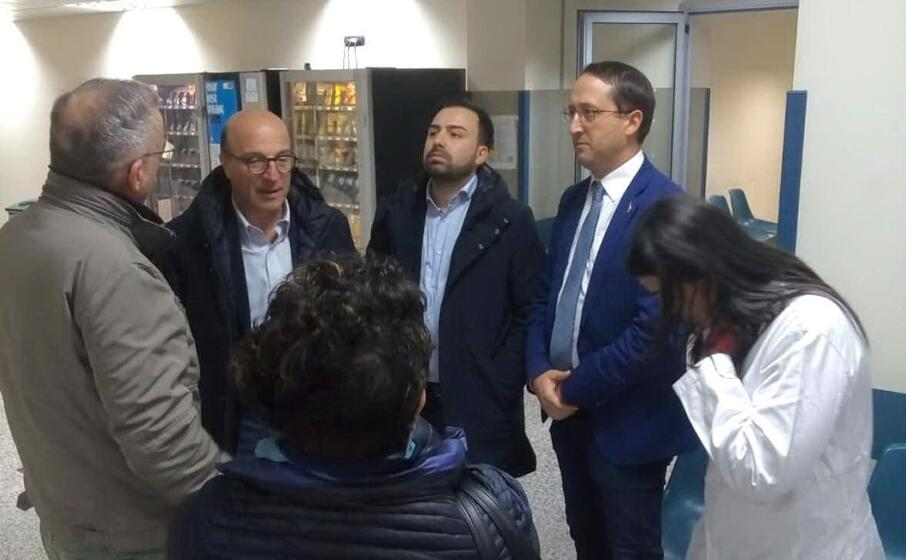 la visita dell assessore regionale della sanit