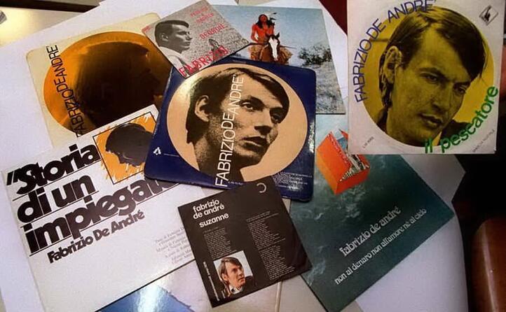 in quasi quarant anni di carriera ha inciso 14 album (archivio l unione sarda)