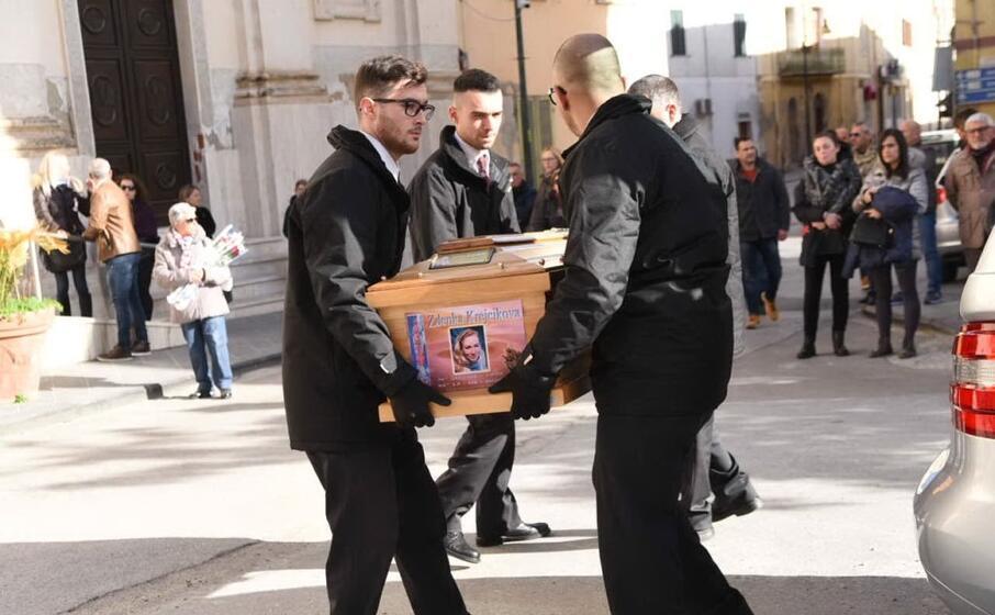 a sorso i funerali di zdenka krejcikova