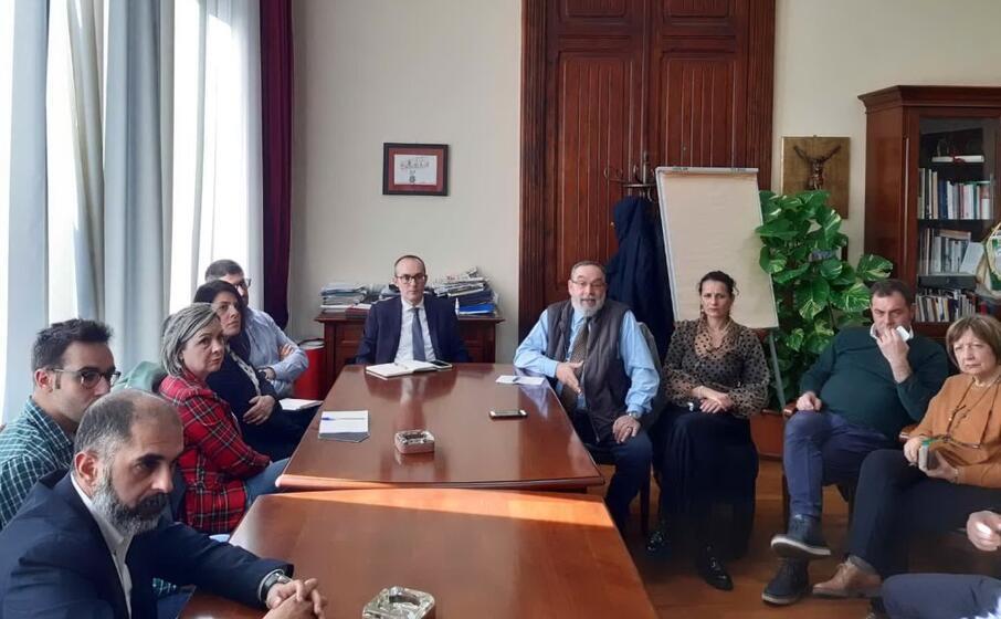 i sindaci riuniti (foto ufficio stampa)