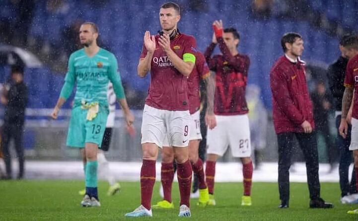 certamente la roma fa paura in avanti con edin dzeko (foto profilo facebook del club)