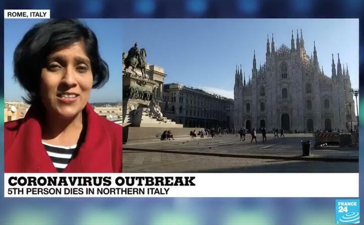 il canale france24 si concentra sulle morti causate da coronavirus