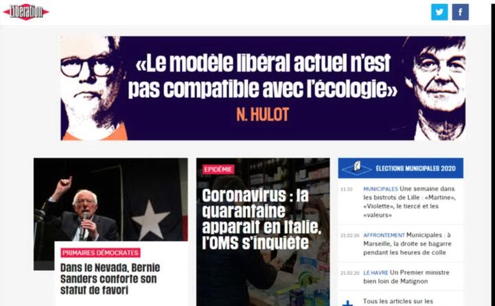 la quarantena italiana e l inquietudine dell oms tra le principali notizie di liberation quotidiano parigino