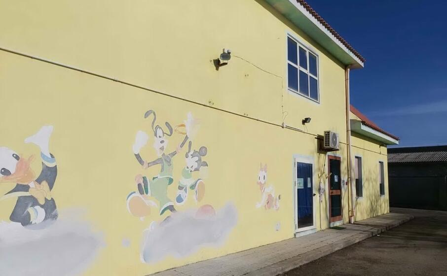 l edificio che ospita il servizio per la prima infanzia (foto severino sirigu)
