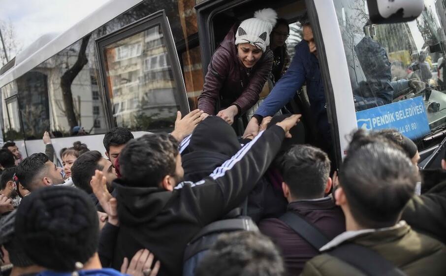 rifugiati siriani (ansa akin celiktas)