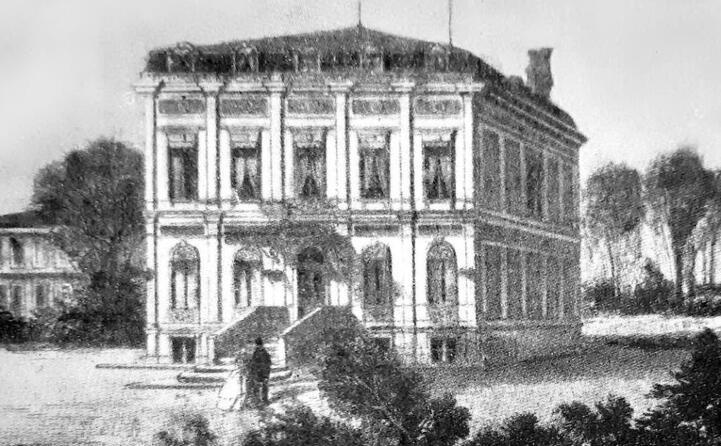 la villa di passy dove mor nel 1868