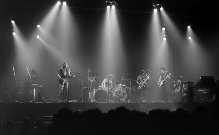 uno dei primi concerti del tour di the dark side of the moon