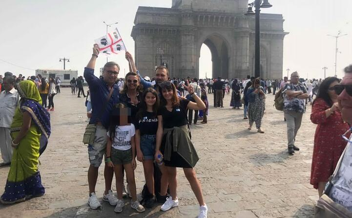 la famiglia massidda da mumbai (india)