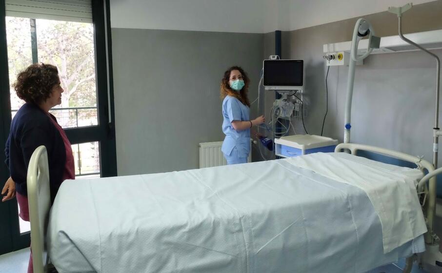 cagliari il reparto infettivi del ss trinit (foto ungari)