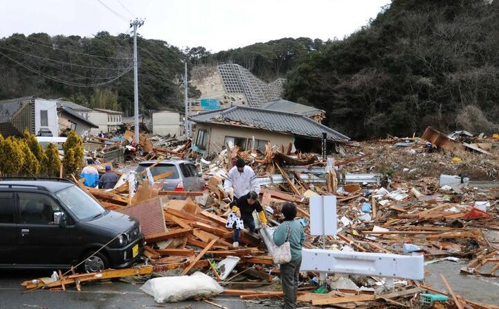 gli effetti del terremoto