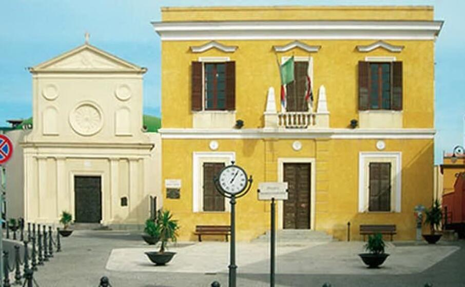 il municipio di piazza maria vergine