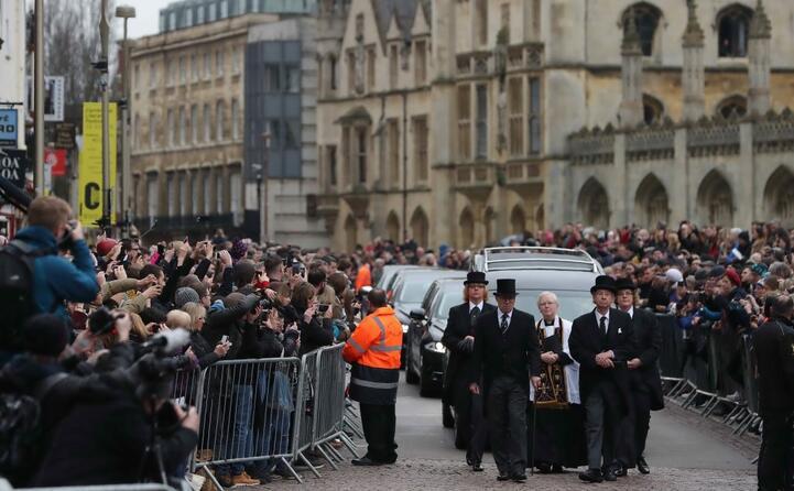 il suo funerale