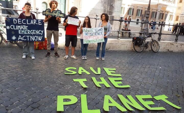 una delle proteste a roma