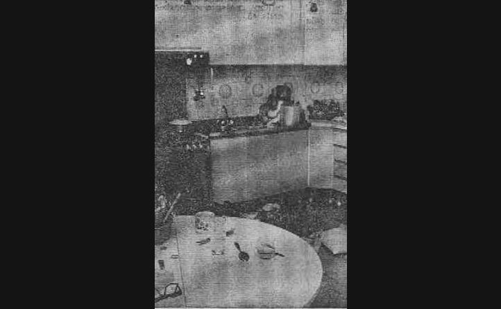 la cucina in cui avvenuto l omicidio della nonna