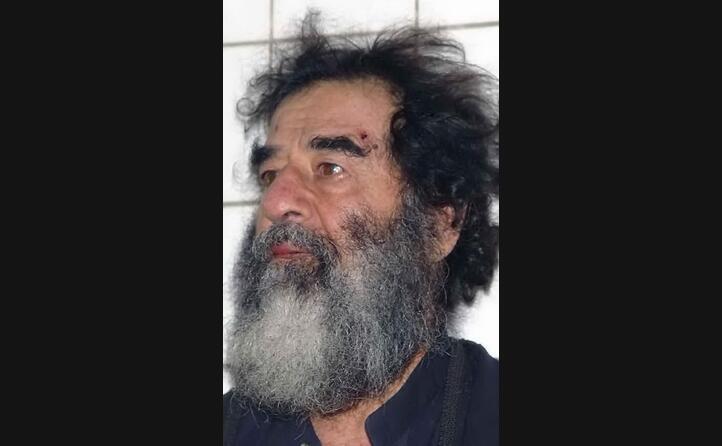 saddam hussein dopo la cattura (foto wikipedia)