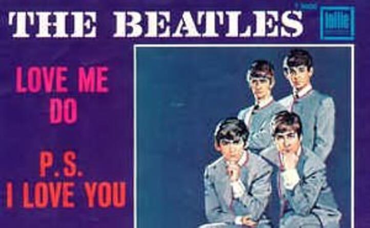 il singolo di love me do